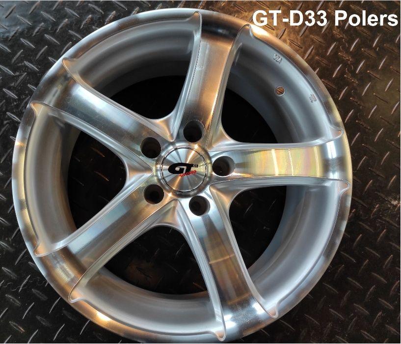 """Felgi aluminiowe GT racing 17"""", różne modele-nowe, wyprzedaż magazynów Gdańsk - image 1"""