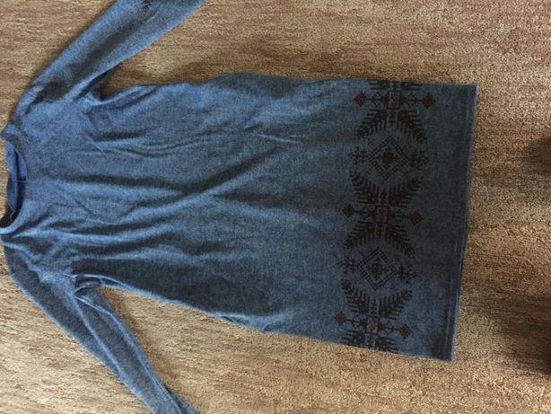 Платье теплое женская одежда