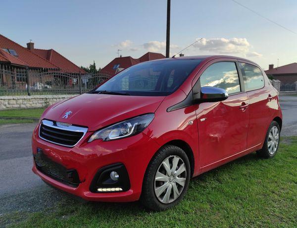 KUPIĘ drzwi przednie lewe czerwone Peugeot 108