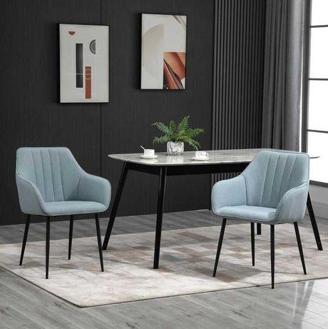 Conjunto de 2 Cadeiras com Encosto Ergonómico
