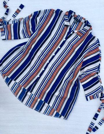 Стильная рубашка,блузка свободного кроя,оверсайз New Look