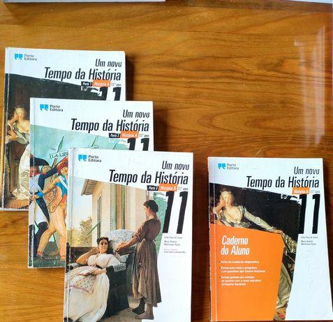 Um novo Tempo da História 11° ano - Manuais + Caderno do Aluno