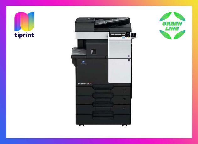 Лазерный цветной копир МФУ А3 А4 Konica Minolta bizhub c227 принтер