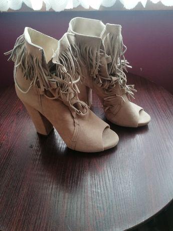 Buty damskie włoskie, skóra L'estrosa