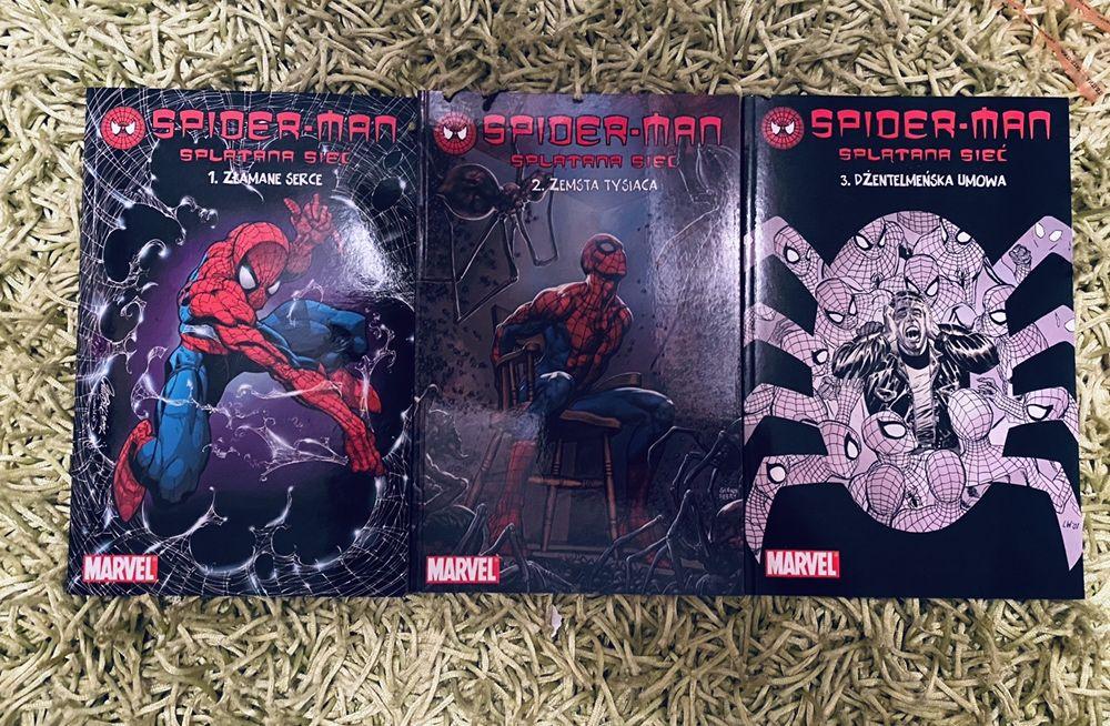 Spiderman. Splątana sieć t.1-3 Warszawa - image 1
