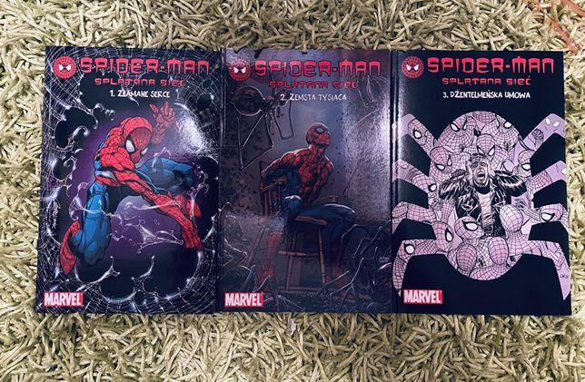 Spiderman. Splątana sieć t.1-3