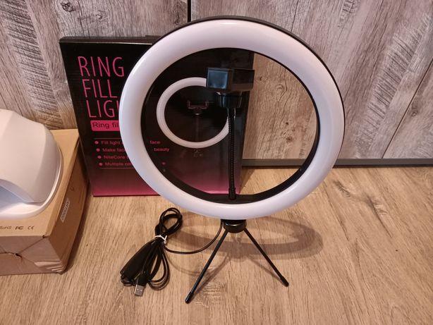 Кольцевая лампа 26 см тринога держатель для телефона