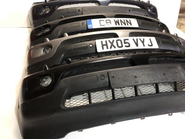 Бампер передний БМВ Е53 туманка BMW X5 e53