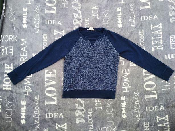 Sweterek H&M prawie nowy 128 134 chłopięcy jesień zimę szkoły 7 8 9