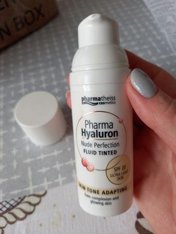 Тональний флюїд pharma hyaluron nude perfection
