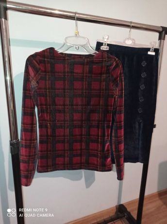 Komplet bluzka +spódnica rS Reserved