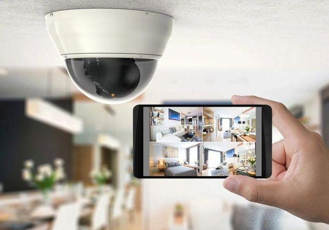Видеонаблюдение установка/монтаж/ремонт Камеры Видеонаблюдения датчики