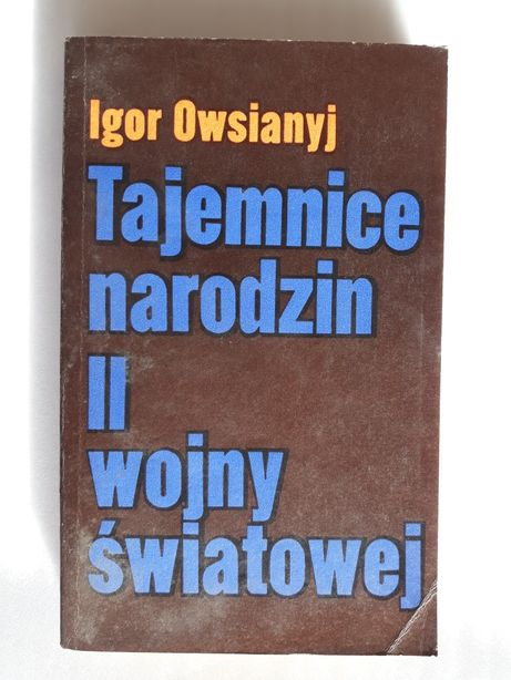 Tajemnice narodzin II wojny światowej; Igor Owsianyj