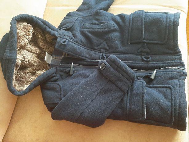 Пальто детское тёплое б/у
