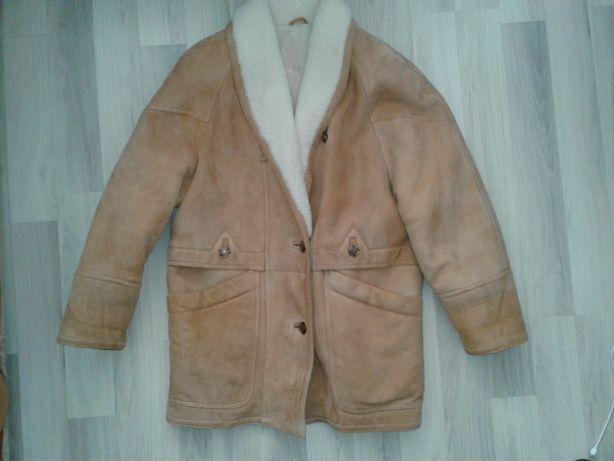 дубльонка курта на овчине женская размер 38