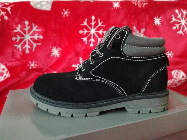 Buty zimowe dziecięce r.31, czarny