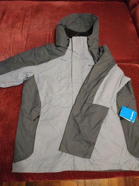 Куртка 3 в 1 мужская Columbia 58 оригинал 3xl xxxl