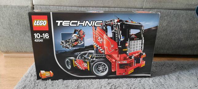 Sprzedam klocki lego technik ciężarówka wyścigowa
