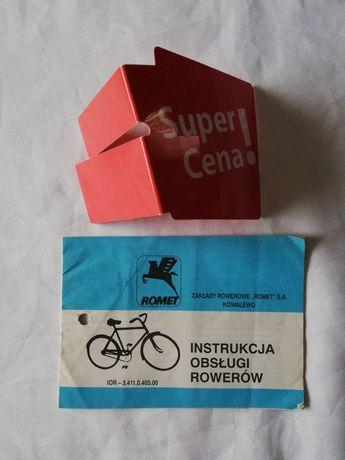 instrukcja obsługi rowerów