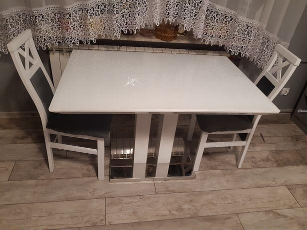 Stół  biały połysk 120 na 80
