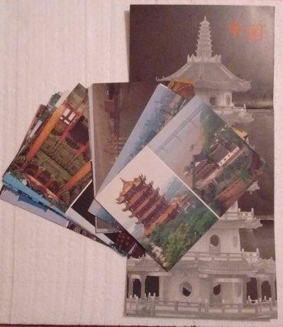 """Цветные листовки """"По Китаю"""", 1989 г."""