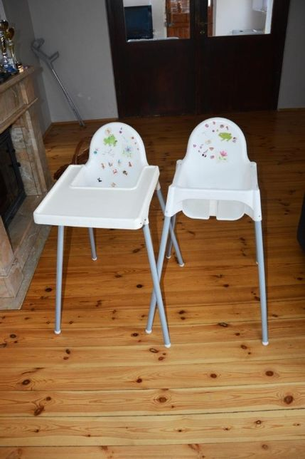 krzesełko z IKEI dla dziecka