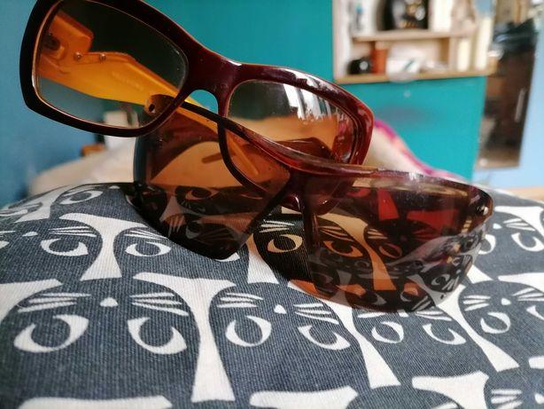 Okulary przeciwsłoneczne VALENTINO Brązowe +Gratis