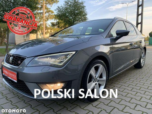 Seat Leon Seat Leon III FR 2.0TDI 2016r Full LED Radar 150PS Salon Polska