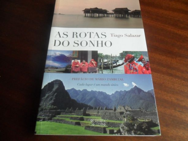 """As Rotas do Sonho"" de Tiago Salazar"