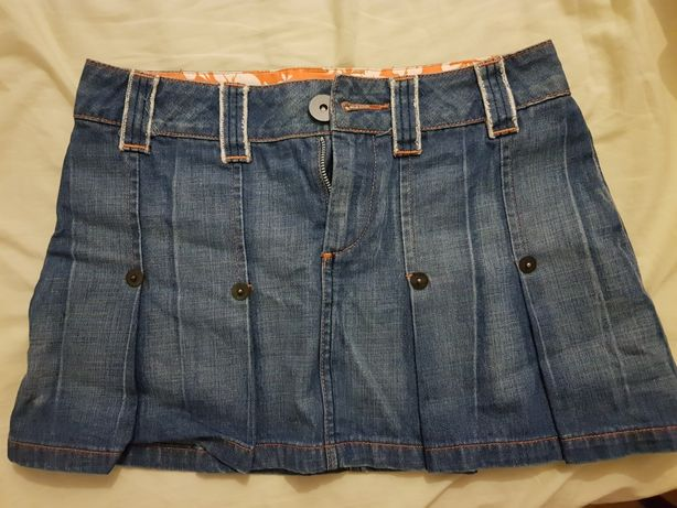Spódniczka vila jeans rozmiar s