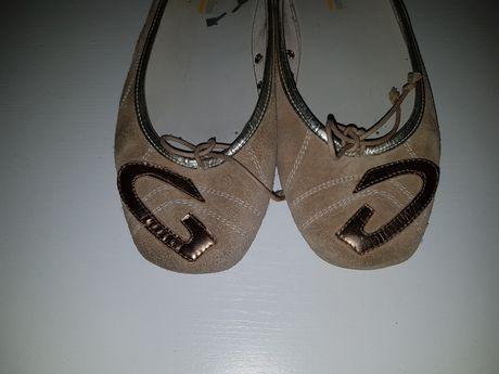 Włoskie balerinki oryginalne Alberto Guardiani  damskie buty 36 italy