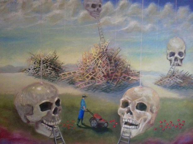 """Картина маслом """"Разбитые надежды"""" 80×65."""