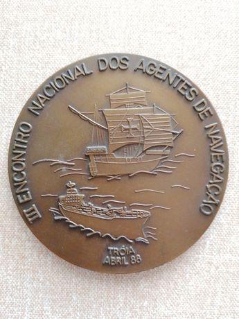 Medalhas comemorativas em bronze