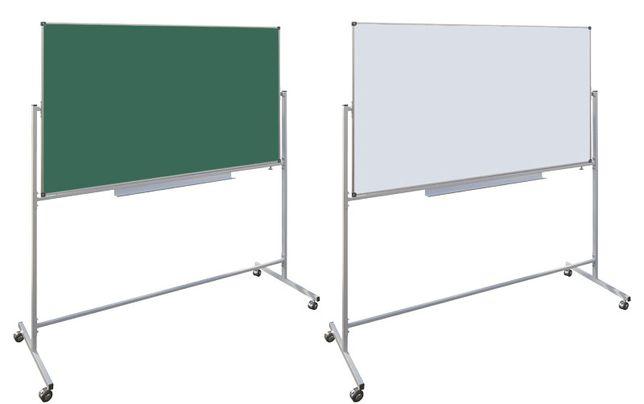 Школьная доска поворотная (Doski.biz). 2 поверхности в одной доске!