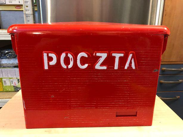 Skrzynka pocztowa PRL