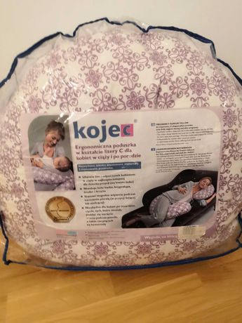 Ergonomiczna poduszka c dla kobiet w ciąży firmy Motherhood