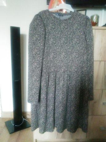 Sukienka Zara bufki rozmiar M