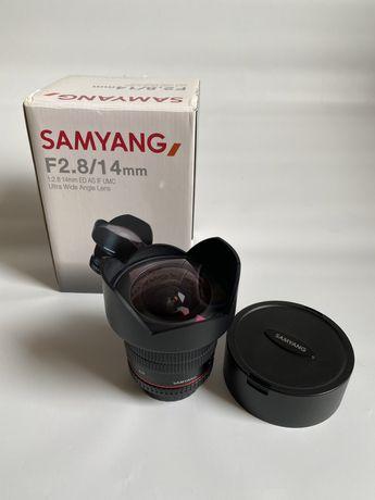 Samyang 14 mm 2.8 for nikon