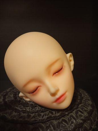 Śpiąca głowa + makeup dla lalka bjd 1/4