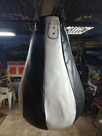 Saco de boxe, usado