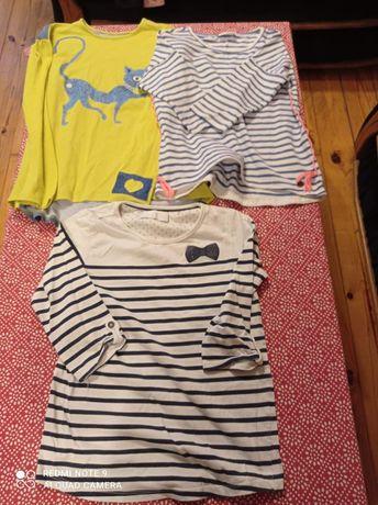Bluzki dla dziewczynki 146