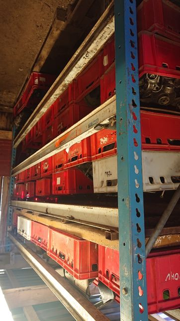 Części do kosiarek pchanych samojezdych ponad 150szt silników