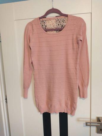 Śliczny pastelowy sweterek rozmiar S