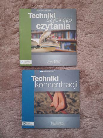 Techniki koncentracji i szybkiego czytania, płyty CD
