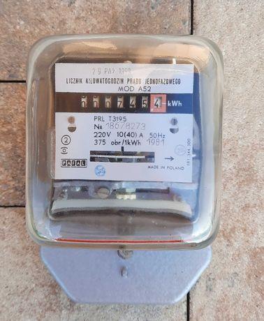 Licznik prądu - jednofazowy MOD A52