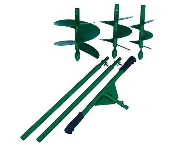 Бур садовий ручний-розбірний Шнек 120/170/220 мм. Сталь 2 мм.
