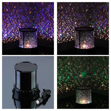 Проектор звездного неба,ночник,лампа,светильник LED (на батарейках,USB