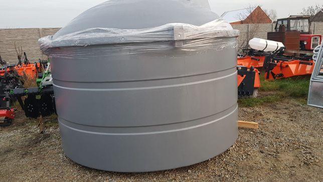 Zbiornik dwupłaszczowy do paliwa ON 5000l DESO / NOWY