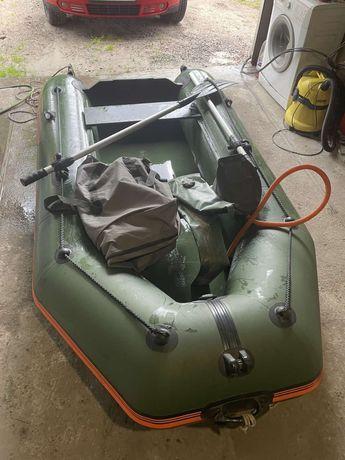 Лодка калибри 280мм с килем и транцем