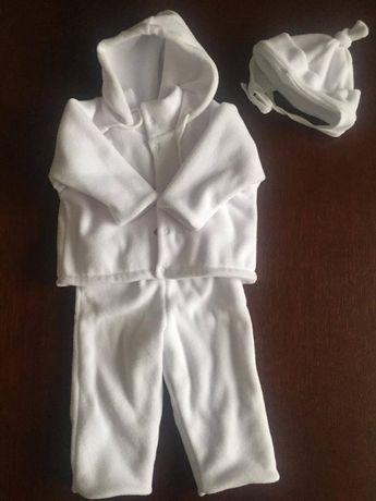 Ubranko do chrztu. 2 komplety po bliźniakach